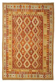 Kilim Afghan Old Style Tapis 197X293 D'orient Tissé À La Main (Laine, Afghanistan)