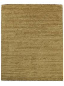 Handloom Fringes - Vert Olive Tapis 200X250 Moderne Vert Olive/Marron (Laine, Inde)