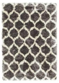 Berber Style Shaggy Regal - Gris/Beige Tapis 160X230 Moderne ( Turquie)