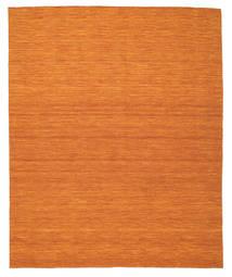 Kilim Loom - Orange Tapis 250X300 Moderne Tissé À La Main Orange Grand (Laine, Inde)