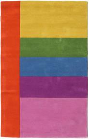 Colors By Meja Handtufted Tapis 100X160 Moderne Rose/Rouille/Rouge (Laine, Inde)