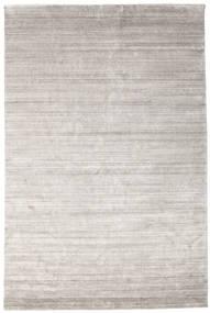 Bambou Soie Loom - Warm Gris Tapis 200X300 Moderne Gris Clair ( Inde)