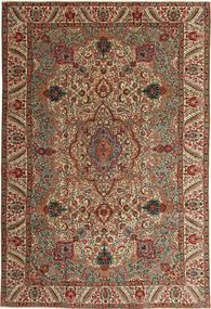 Tabriz Patina Tapis 217X323 D'orient Fait Main Marron Foncé/Marron Clair (Laine, Perse/Iran)