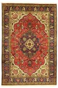 Tabriz Tapis 208X304 D'orient Fait Main (Laine, Perse/Iran)
