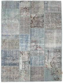 Patchwork Tapis 171X230 Moderne Fait Main Gris Clair/Bleu Turquoise/Vert Clair (Laine, Turquie)