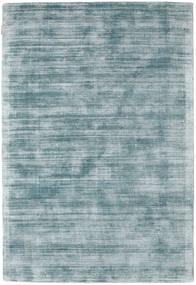 Tribeca - Bleu/Gris Tapis 140X200 Moderne Bleu Clair/Turquoise Foncé ( Inde)