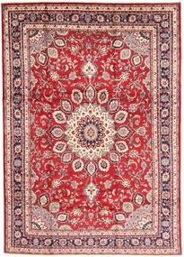 Hamadan Shahrbaf Tapis 210X297 D'orient Fait Main Rouge Foncé/Beige (Laine, Perse/Iran)