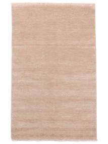 Handloom Fringes - Rose Tendre Tapis 160X230 Moderne Rose Clair/Beige (Laine, Inde)