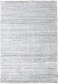 Bambou Soie Loom - Gris Tapis 160X230 Moderne Blanc/Crème/Gris Clair ( Inde)