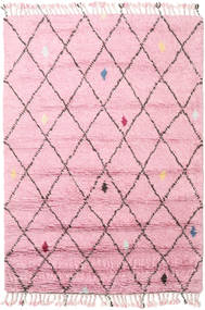 Alta - Magenta Tapis 160X230 Moderne Fait Main Rose Clair (Laine, Inde)