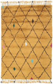 Alta - Doré Tapis 120X180 Moderne Fait Main Marron Clair/Jaune (Laine, Inde)