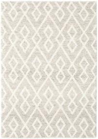 Hudson - Melange Greige Tapis 170X240 Moderne Gris Clair/Beige (Laine, Inde)