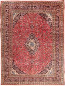 Mashad Tapis 295X390 D'orient Fait Main Rouge Foncé/Marron Clair Grand (Laine, Perse/Iran)