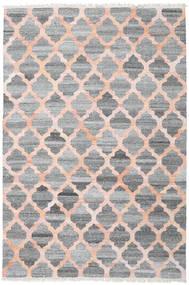 Tapis D'extérieur Kathi - Gris/Coral Tapis 200X300 Moderne Tissé À La Main Gris Clair/Gris Foncé/Rose Clair ( Inde)