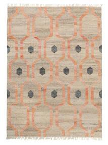 Tapis D'extérieur Cosmou - Coral Tapis 170X240 Moderne Tissé À La Main Gris Clair/Blanc/Crème ( Inde)