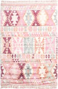 Märta - Rose Tapis 200X300 Moderne Fait Main Rose Clair/Beige (Laine, Inde)