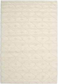 Romby - Off-Blanc Tapis 200X300 Moderne Tissé À La Main Beige/Beige Foncé (Laine, Inde)