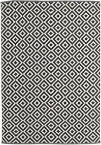Torun - Noir/Neutral Tapis 170X240 Moderne Tissé À La Main Noir/Beige Foncé (Coton, Inde)