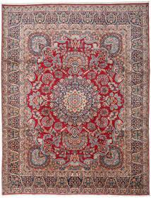 Kerman Tapis 303X391 D'orient Fait Main Gris Foncé/Rouge Foncé Grand (Laine, Perse/Iran)