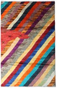 Moroccan Berber - Afghanistan Tapis 118X184 Moderne Fait Main Rouge Foncé/Violet Foncé (Laine, Afghanistan)