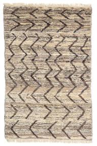 Moroccan Berber - Afghanistan Tapis 114X176 Moderne Fait Main Gris Clair/Marron Foncé (Laine, Afghanistan)