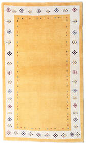 Loribaft Persan Tapis 83X145 Moderne Fait Main Beige/Marron Clair/Jaune (Laine, Perse/Iran)