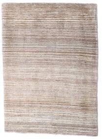 Loribaft Persan Tapis 80X120 Moderne Fait Main Gris Clair/Blanc/Crème (Laine, Perse/Iran)
