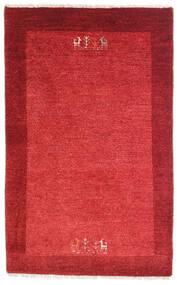 Loribaft Persan Tapis 79X128 Moderne Fait Main Rouge/Rouille/Rouge (Laine, Perse/Iran)