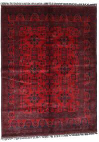Afghan Khal Mohammadi Tapis 169X228 D'orient Fait Main Rouge Foncé/Rouge (Laine, Afghanistan)