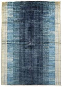 Battuta Tapis 170X231 Moderne Fait Main Bleu Foncé/Bleu Clair (Laine, Afghanistan)