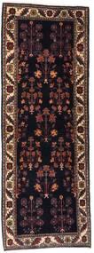 Gabbeh Kashkooli Tapis 82X223 Moderne Fait Main Tapis Couloir Marron Foncé/Rouge Foncé (Laine, Perse/Iran)