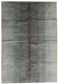 Moderne Afghan Tapis 198X290 Moderne Fait Main Gris Clair (Laine, Afghanistan)