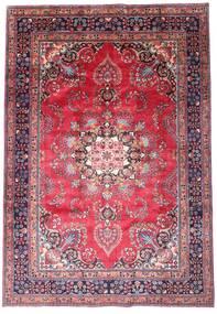 Mashad Tapis 203X290 D'orient Fait Main Violet Foncé/Rose (Laine, Perse/Iran)