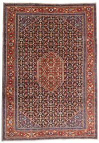 Ardabil Tapis 234X330 D'orient Fait Main Rouge Foncé/Marron Foncé (Laine, Perse/Iran)