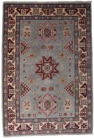 Kazak Tapis 120X175 D'orient Fait Main Marron Foncé/Noir (Laine, Afghanistan)