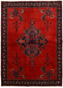 Afshar Tapis 166X228 D'orient Fait Main Rouge Foncé/Rouille/Rouge (Laine, Perse/Iran)