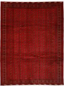 Turkaman Tapis 252X337 D'orient Fait Main Rouge/Rouille/Rouge Grand (Laine, Perse/Iran)