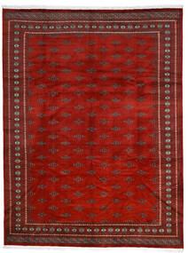 Pakistan Boukhara 2Ply Tapis 281X369 D'orient Fait Main Rouille/Rouge/Rouge Foncé Grand (Laine, Pakistan)