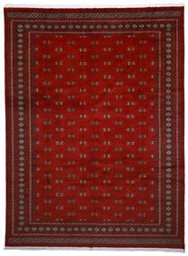 Pakistan Boukhara 2Ply Tapis 272X364 D'orient Fait Main Rouge Foncé/Rouge Grand (Laine, Pakistan)