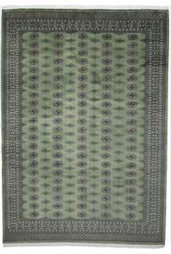 Pakistan Boukhara 2Ply Tapis 251X352 D'orient Fait Main Gris Foncé/Vert Foncé Grand (Laine, Pakistan)
