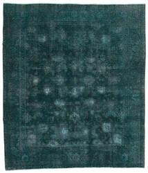 Vintage Heritage Tapis 244X280 Moderne Fait Main Turquoise Foncé/Bleu (Laine, Perse/Iran)