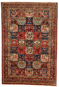 Bakhtiar Collectible Tapis 214X316 D'orient Fait Main Rouge Foncé/Noir (Laine, Perse/Iran)