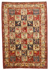 Bakhtiar Collectible Tapis 216X316 D'orient Fait Main Marron Foncé/Rouge Foncé (Laine, Perse/Iran)