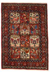 Bakhtiar Collectible Tapis 106X150 D'orient Fait Main Marron Foncé/Rouge Foncé (Laine, Perse/Iran)