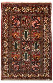 Bakhtiar Collectible Tapis 99X151 D'orient Fait Main Marron Foncé/Rouge Foncé (Laine, Perse/Iran)