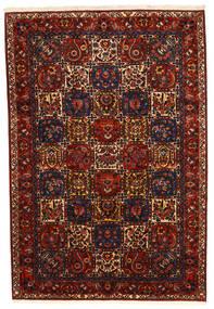 Bakhtiar Collectible Tapis 210X310 D'orient Fait Main Rouge Foncé/Noir (Laine, Perse/Iran)