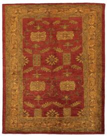 Oriental Overdyed Tapis 144X183 Moderne Fait Main Marron Foncé/Rouge Foncé/Beige (Laine, Perse/Iran)