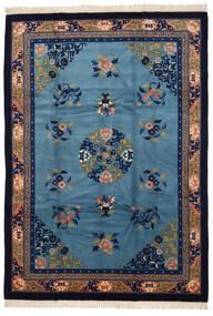 Chinois Finition Antique Tapis 213X305 D'orient Fait Main Violet Foncé/Bleu Foncé (Laine, Chine)