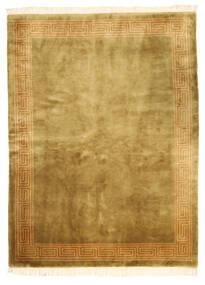 Chinois Finition Antique Tapis 168X229 D'orient Fait Main Marron/Vert Olive (Laine, Chine)