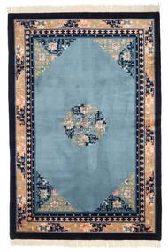 Chinois Finition Antique Tapis 152X229 D'orient Fait Main Bleu Foncé/Violet Foncé (Laine, Chine)